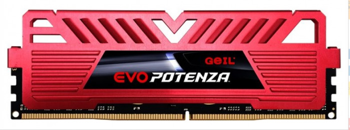 8GB DDR4-3200 (PC4-25600) <GEIL> EVO POTENZA RED series ( GPR48GB3200C16ASC )