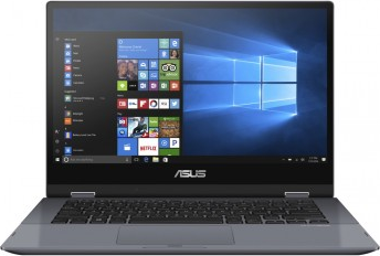"Ноутбук Asus 14"" FHD Touch (TP412FA) -  Intel Core i3-8145U/4G/256G SSD/BT/Win10 Touch"