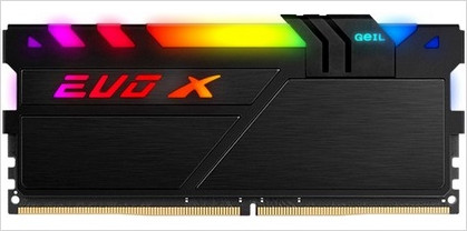 8GB DDR4-3600 (PC4-28800) <GEIL> EVO X II BLACK series ( GEXSB48GB3600C18BSC )