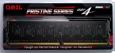 4GB DDR4-2666 (PC4-21300) <GEIL> PRISTINE series ( GP44GB2666C19SC )