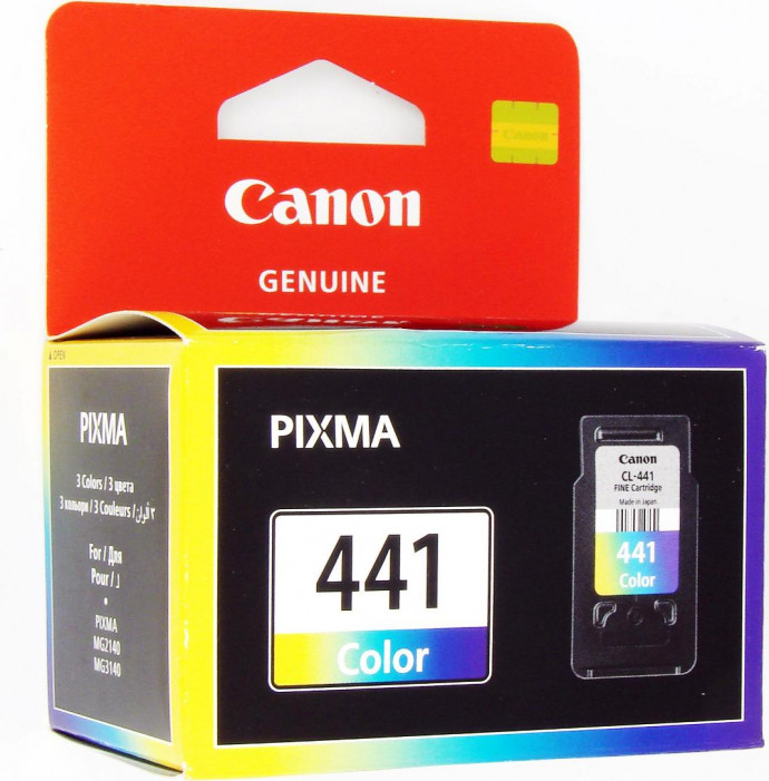 Картридж Canon CL-441 для PIXMA MG2140, MG3140 Color