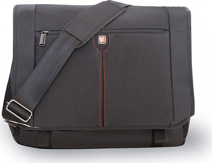 "Сумка для ноутбука 16"" Verbatim Berlin Notebook Messenger Bag 16"" Black"