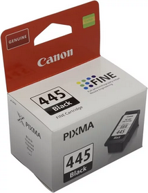 Картридж Canon PG-445 для PIXMA MG 2440 / MG2450 / MG2540 / MG2550 black