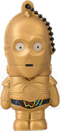 USB Flash Drive  8GB Genie (Star Wars C-3PO) USB2.0 (FD007406)
