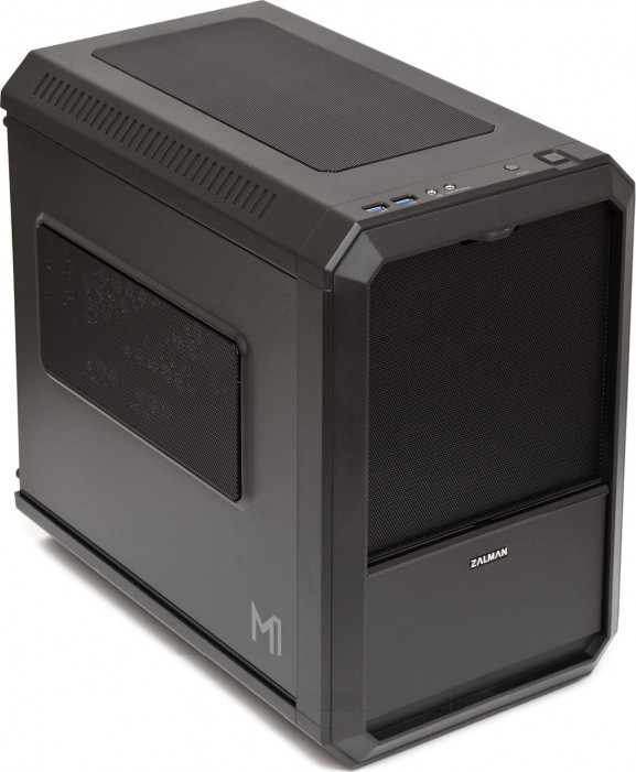 Корпус  Zalman [ M1 ] (без бп) Black (GAMING) Mini-ITX
