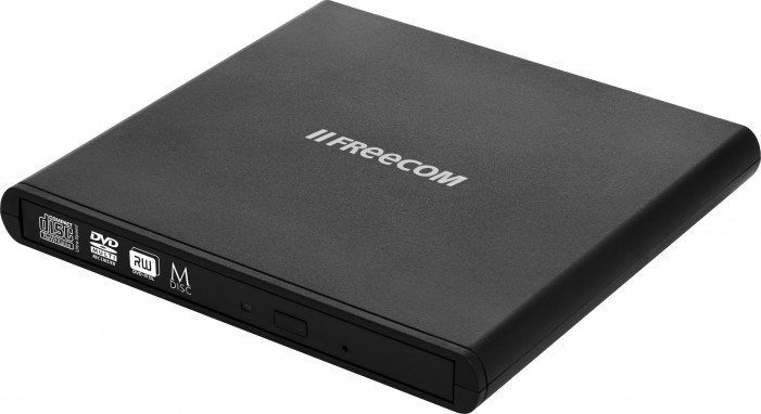 DVD-RW Freecom Mobile DVD ReWriter USB 2.0 Black M-DICS
