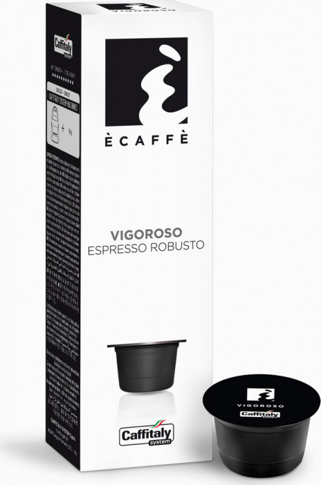 Кофе в капсулах ECAFFE для кофе-машин Caffitaly - VIGOROSO