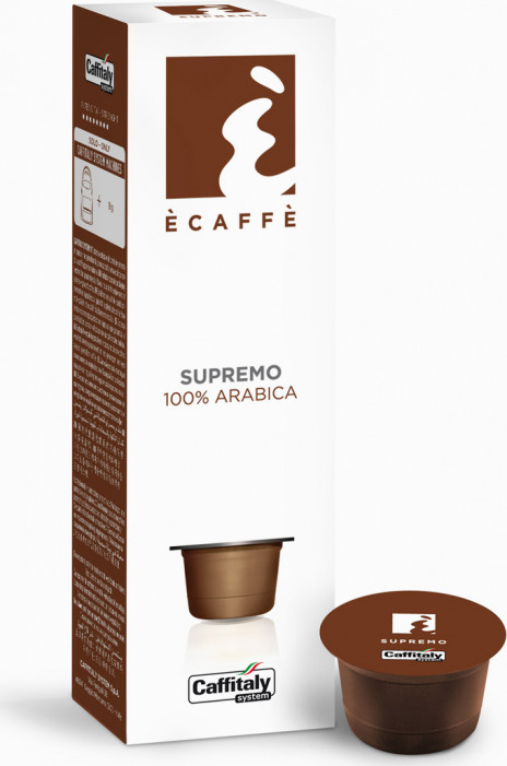 Кофе в капсулах ECAFFE для кофе-машин Caffitaly - SUPREMO
