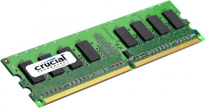 2GB DDR2-800 (PC2-6400) <Crucial> ( CT25664AA800 )