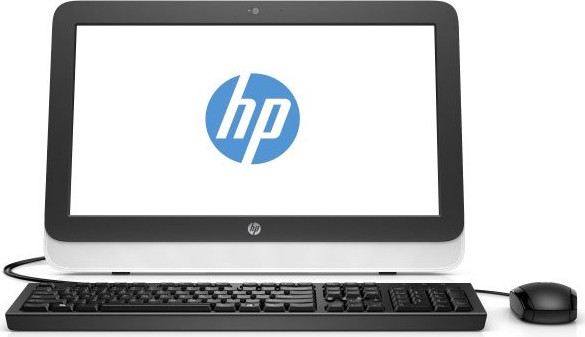 "Моноблок 19,5"" HP  (Pavilion 20-r000ur AiO) - AMD E1-6015/2G/500Gb/DVD-RW/WiFi/KB+ Mouse/Win8.1"