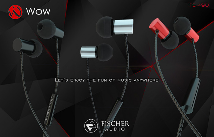 Наушники Fischer Audio WOW Red