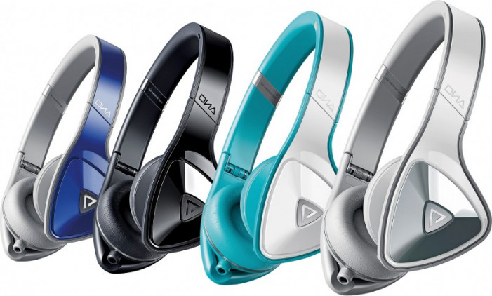 Наушники Monster DNA (White Teal) On-Ear Headphones