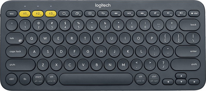 Клавиатура беспроводная Logitech Wireless K380 Dark Grey Wireless Bluetooth 920-007584