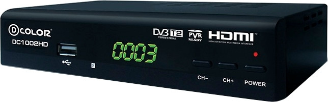 TV-тюнер D-COLOR DC1002HD внешний