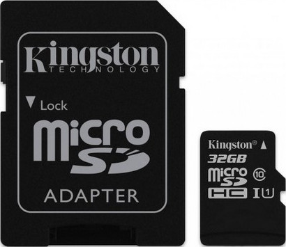 Micro Secure Digital 32GB Kingston (SDC10G2/32GB) SDHC (Class 10)
