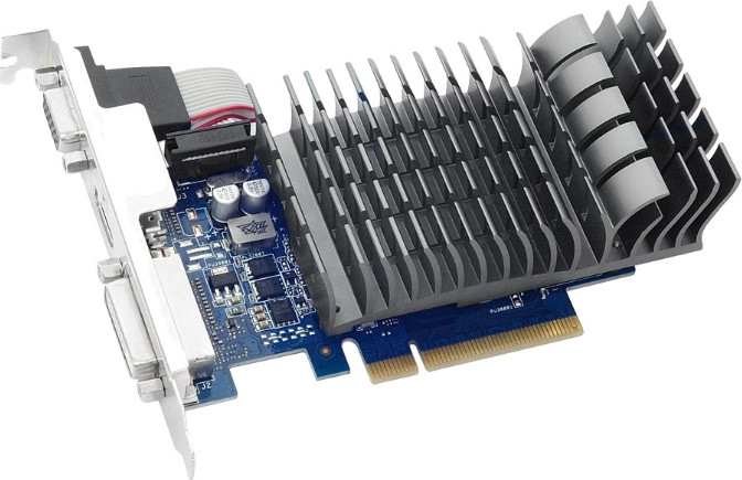 Видеокарта   ASUS GeForce 710 SILENT Low Profile GDDR3 2048MB 64-bit (LP) (710-2-SL)
