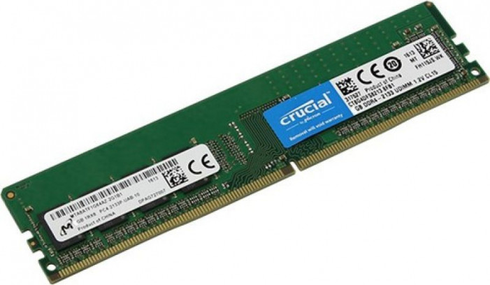 4GB DDR4-2400 (PC4-19200) <Crucial> ( CT4G4DFS824A )