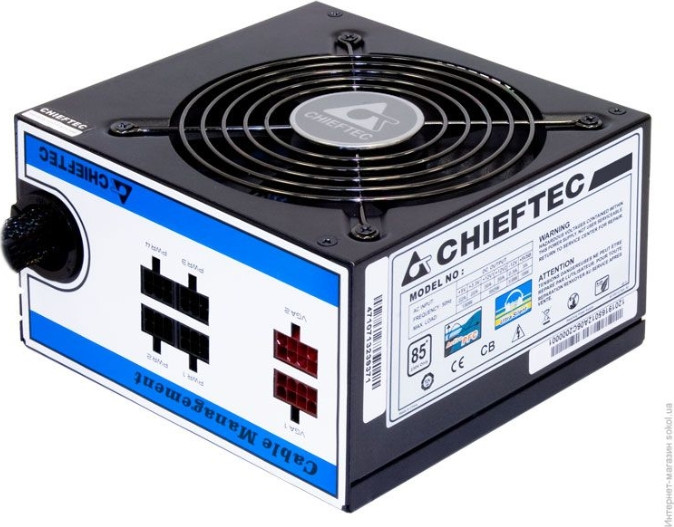 Блок питания  750W CHIEFTEC <CTG-750C> 80PLUS BRONZE A-80 series ATX