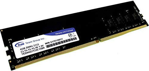 4GB DDR4-2133 (PC4-17000) <Team Group> ( TED44G2133C1501 )