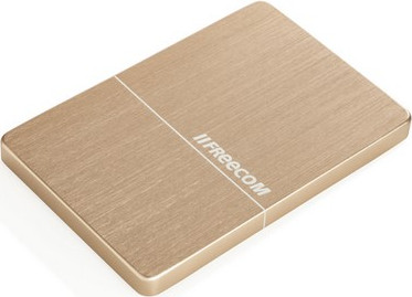 "Внешний жёсткий диск2000GB Freecom 2,5"" (mHDD Mobile Drive Metal slim Gold) USB 3.0"