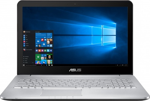 "Ноутбук Asus 15,6"" HD (N552Vx) - i7-6700HQ (2.6)/8Gb/2Tb/NV GTX950M 4Gb/BluRay Read/WiDi/BT/Win10"