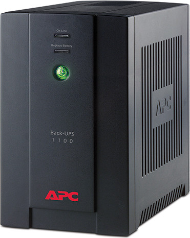 ИБП APC Back-UPS RS, 1100VA/660W, 230V, AVR, 4xRussian outlets (4 batt.), Data/DSL protection, user