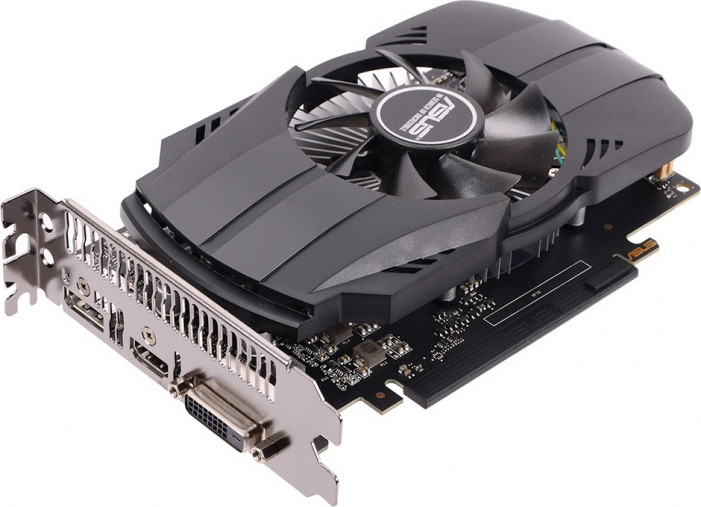 Видеокарта   ASUS GeForce GTX 1050 GDDR5 2048MB 128-bit (PH-GTX1050-2G) (PH-GTX1050-2G)