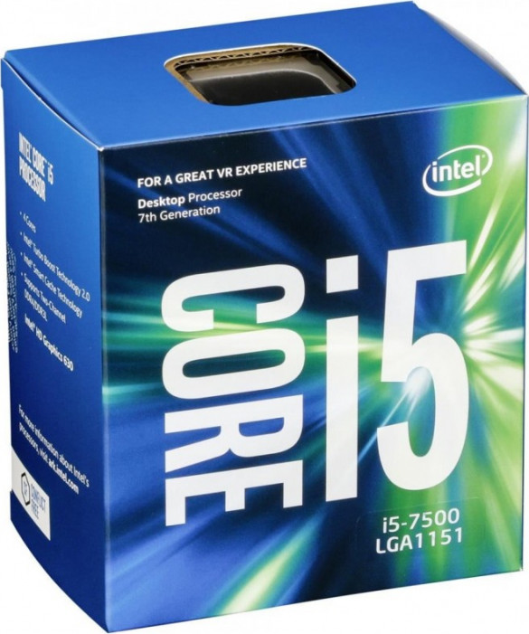 LGA1151 Intel Core i5-7500 (3.40 Ghz 6M, DDR4) BOX