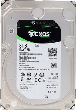 Жесткий диск 8000Gb (8TB) Seagate Enterprise 256Mb 7200 rpm SATA3 (6GB/s) ( ST8000NM0055)