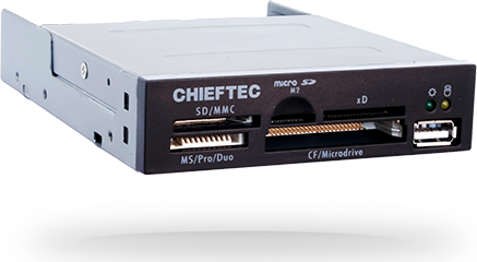 Карт-ридер CHIEFTEC <CRD-501D> All in One