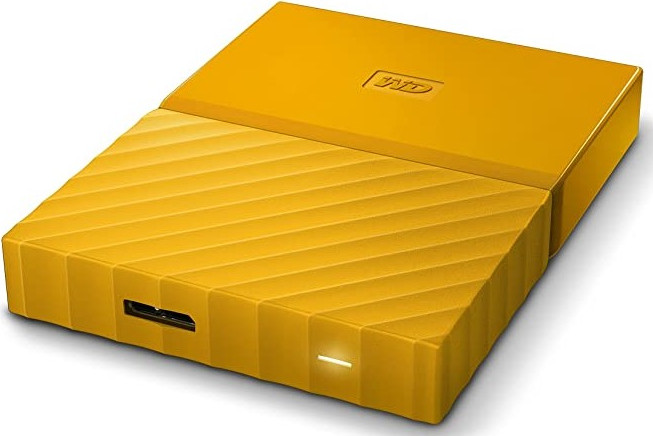 "Внешний жёсткий диск1000GB Western Digital 2,5"" (My Passport YELLOW) USB 3.0 (WDBYNN0010BYL-WESN)"