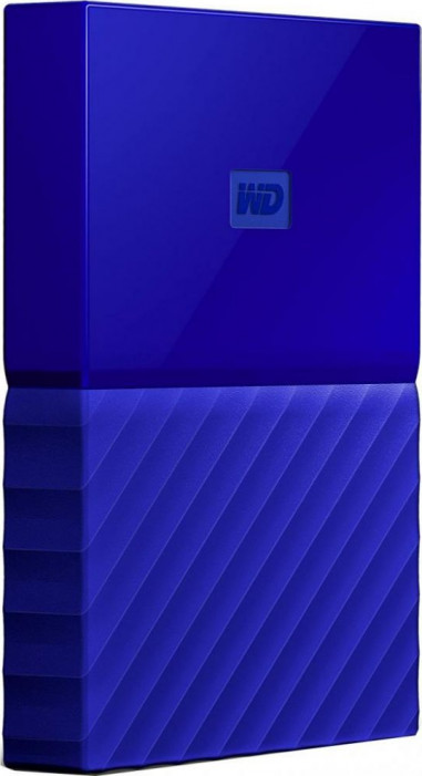 "Внешний жёсткий диск1000GB Western Digital 2,5"" (My Passport BLUE) USB 3.0 (WDBYNN0010BBL-WESN)"