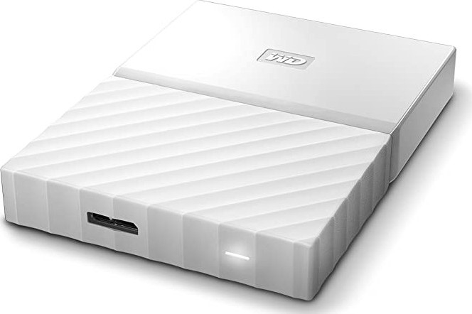 "Внешний жёсткий диск1000GB Western Digital 2,5"" (My Passport WHITE) USB 3.0 (WDBYNN0010BWT-WESN)"