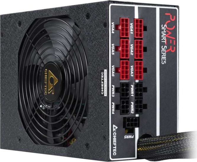 Блок питания 1250W CHIEFTEC <GPS-1250C> 80PLUS GOLD SMART series ATX