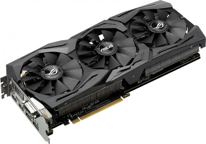 Видеокарта   ASUS GeForce GTX 1070 GDDR5 8192MB 256-bit (STRIX-GTX1070-O8G-GAMING)