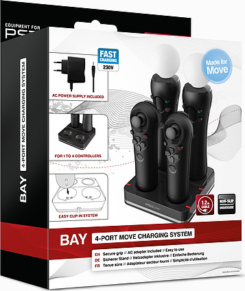 Зарядное устройство SPEED-LINK BAY 4-Port Move Charging System, black
