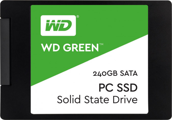 "Диск SSD2.5"" 240Gb WD Green 3D series SATA3 (6Gb/s) ( WDS240G2G0A )"