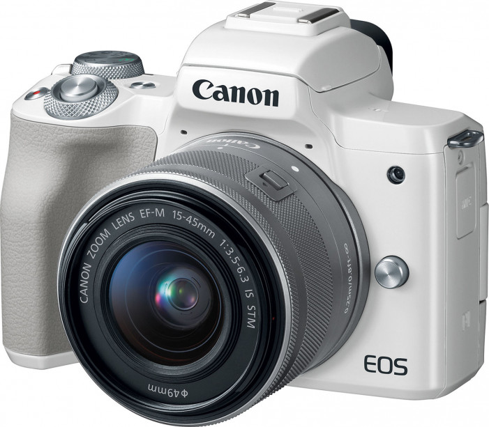Фотоаппарат Canon EOS M50 EF-M 15-45 IS STM белый
