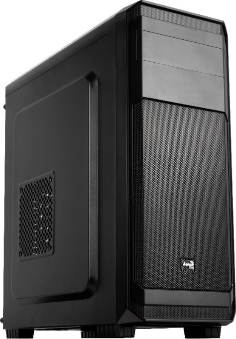 Корпус  Aerocool [ PGS AERO-300 ]  (без бп) Black (GAMING) ATX (AEROPGSAERO-300)