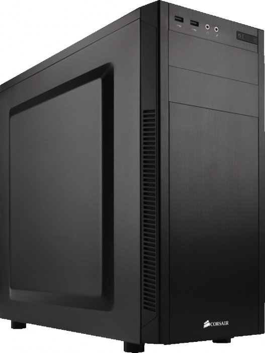 Корпус  Corsair [ Carbide ] Series 100R Silent BLACK, (без бп) ATX