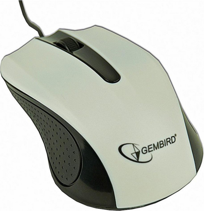 Мышь Gembird Optical mouse, USB, white