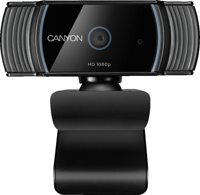 Веб-камера CANYON CNS-CWC5 1080P full HD 2.0Mega auto focus webcam with USB2.0 connector, 360 degree