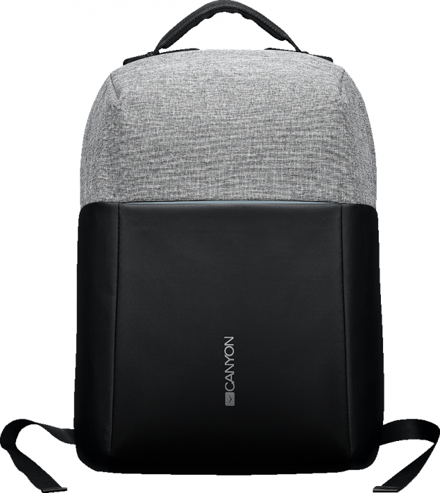 "Рюкзак CANYON Backpack for 15.6"" laptop, material 900D glued polyester and 600D polyester, black/dar"