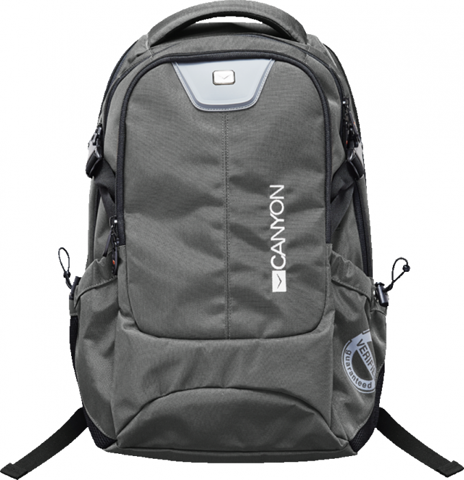 Рюкзак CANYON Backpack for 15.6'' laptop, dark gray (Material: 840D Nylon)