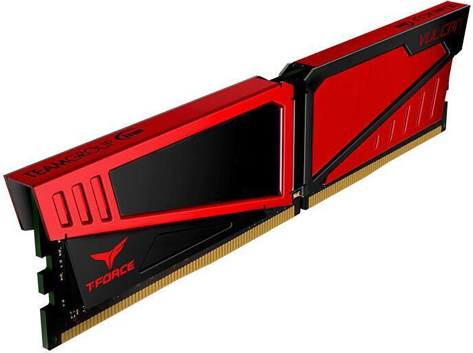 8GB DDR4-2400 (PC4-19200) <Team Group> Vulcan series ( TLRED48G2400HC16BK )