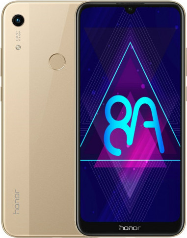 "Смартфон Honor 8A LTE 6.09"" Золотой (JAT-LX1) 32 Гб/2 Гб"