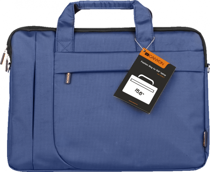 "Сумка для ноутбука CANYON Fashion toploader Bag for 15.6"" laptop, Blue"