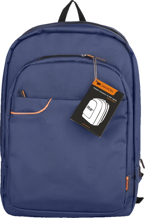 "Рюкзак CANYON Backpack for 15.6"" laptop,material nylon,blue,435*295*70mm,0.7kg,capacity15L"
