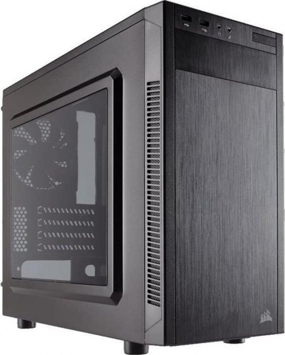 Корпус  Corsair [ Carbide ] Series 88R Silent BLACK, (без бп) MicroATX (CC-9011086-WW)