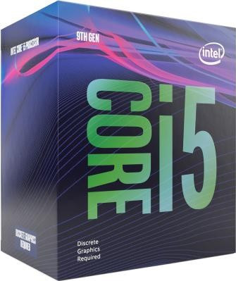 LGA1151v2 Intel Core i5-9500F (Gen.9) (3.00 Ghz 9M, DDR4) BOX. Видео - НЕТ